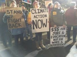 Trump Protest Milwaukee 1 14 2020 Climate Change