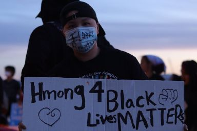 Hmong for Black Lives Matter Green Bay WI 5 31 2020