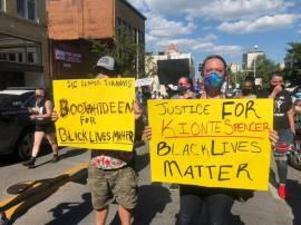 Justice For Kionte BLM Roanoke VA May 30 2020