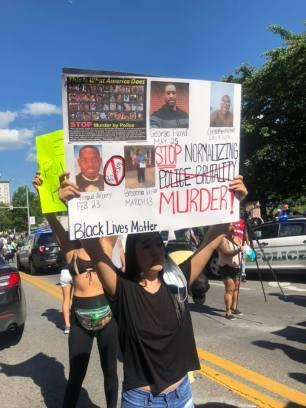 Stop Police Murder Roanoke VA May 30 2020