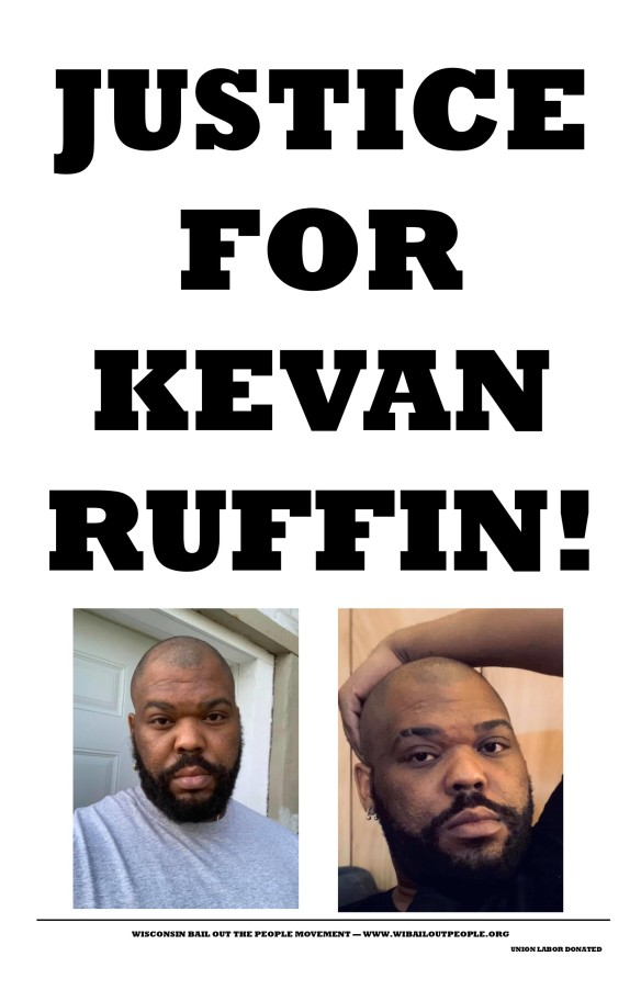 Justice For Kevin Ruffin Poster 2 7 2 2020