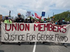Unions for George Floyd